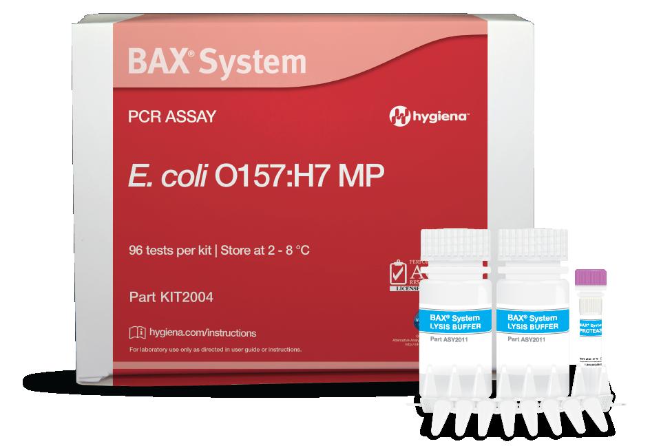 E. coli O157:H7 PCR BAX HYGIENA COLOMBIA