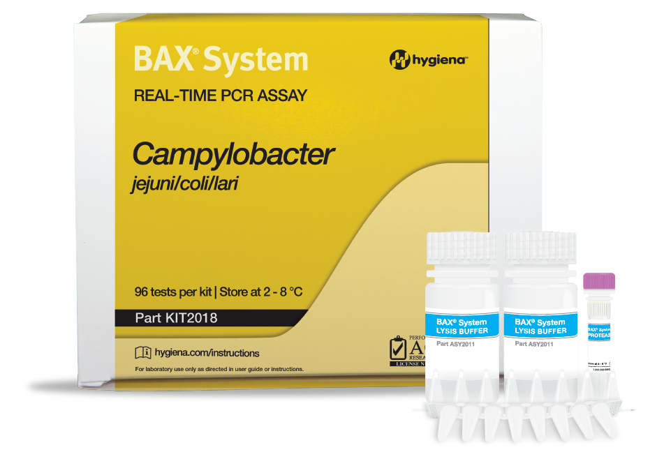 Campylobacter BAX hygiena pcr colombia