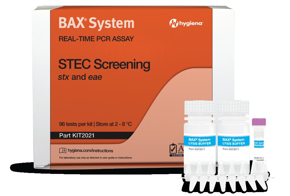 E.coli STEC PCR BAX Hygiena Colombia